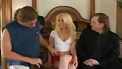Blonde MILF Screws Total Stranger