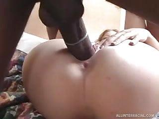 Cute Blonde Takes First Big Black Cock