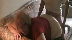 Old mum fucked by her boyfriend