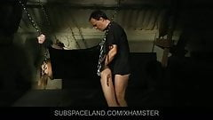 Angel Hott tied and fucked in bondage porn