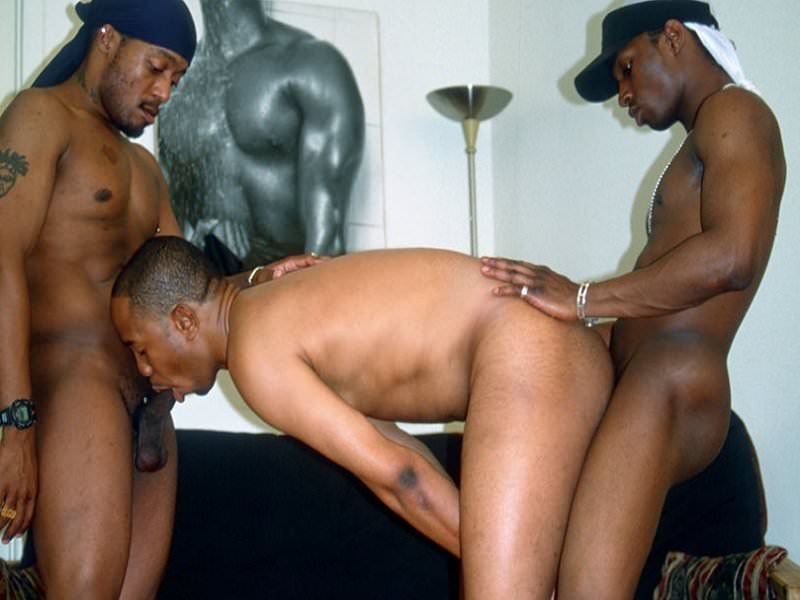 Black thug straight sex — pic 5