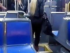 Blonde big butt