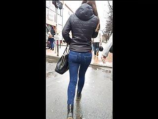 Sexy ass on the street