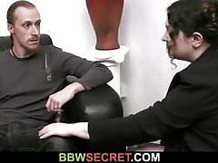 big man lures him into sex
