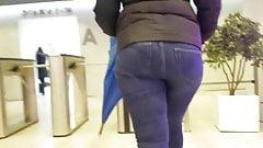 Young BBW's nice ass