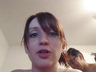 super cute face with beautiful big tits fucking & sucking #2