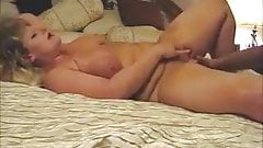 Mature couple, blowing, fucking and squirting