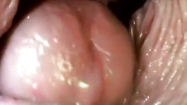 Inside vagina camera from cervix showing sperm hottest sex