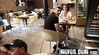 Mofos - Mofos B Sides - Christen Courtney - Euro Amateur Pub's Thumb