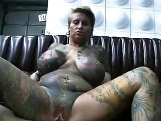 Wife full tattooed and pierced (n-r)