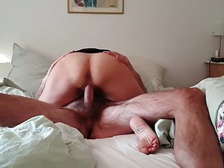Amateur wife in HD pen scene