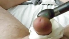 Using Panties and a Vibrator for an Awesome Long Cumshot Huge Load!