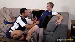 Str8 Soccer Jock Fucks Latino Team Member