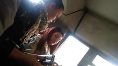 spy sexy girls teens in bus romanian