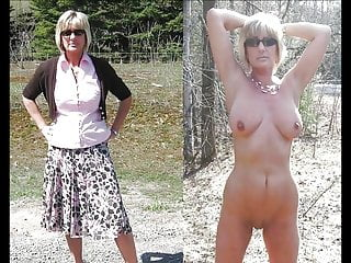 Nude photos of wives and milfs - Clothed and nude video - photos collection 5