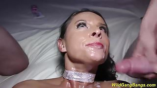 big boob Milf Sexy Susi wild gang banged
