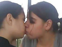 Amateur Lesbian Kiss Compilation
