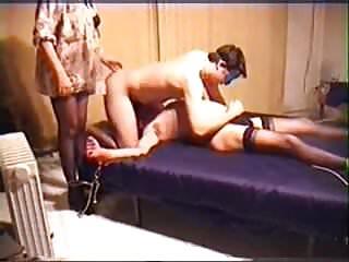 Amateur - BiSex MMF Threesome - Bound to Please