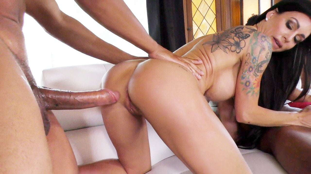 Stepmom Melissa Lynn Threesome Interracial Sex Hd Porn 1F Nl-9734