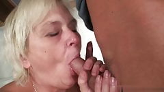 Monika Drobkova seduced and fucked with her son-in-law