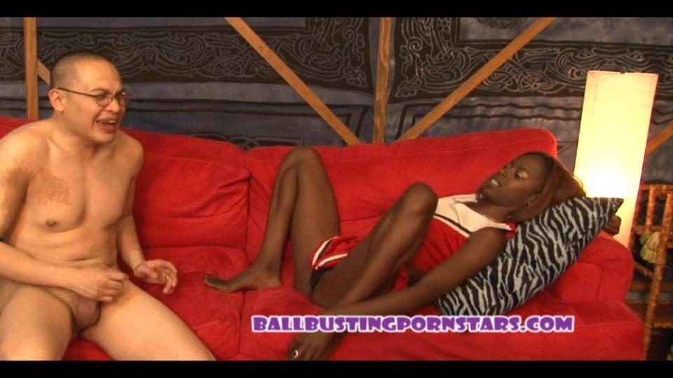 Sorry, erotic ebony ballbusting fetish assured