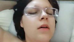 POV fucking Chubby Ex GF who was addicted to sex