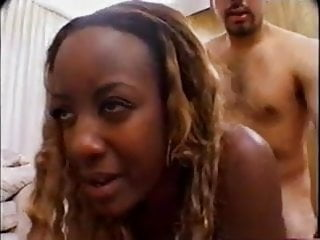 Wild and Horny Ebony Gangbanged
