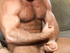 Muscle Trent Fosters Jerk Off & Cum