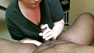 Blowjob Before work