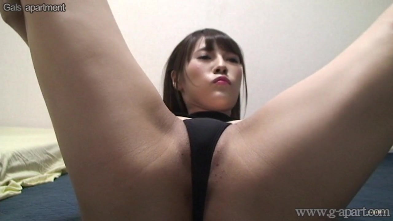Japanese Woman Umi Hinata Bites G-Strings and Extensive Open Legs