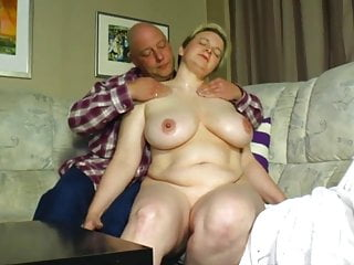 Nasty Old Bitch with Short Hair gets fucked.