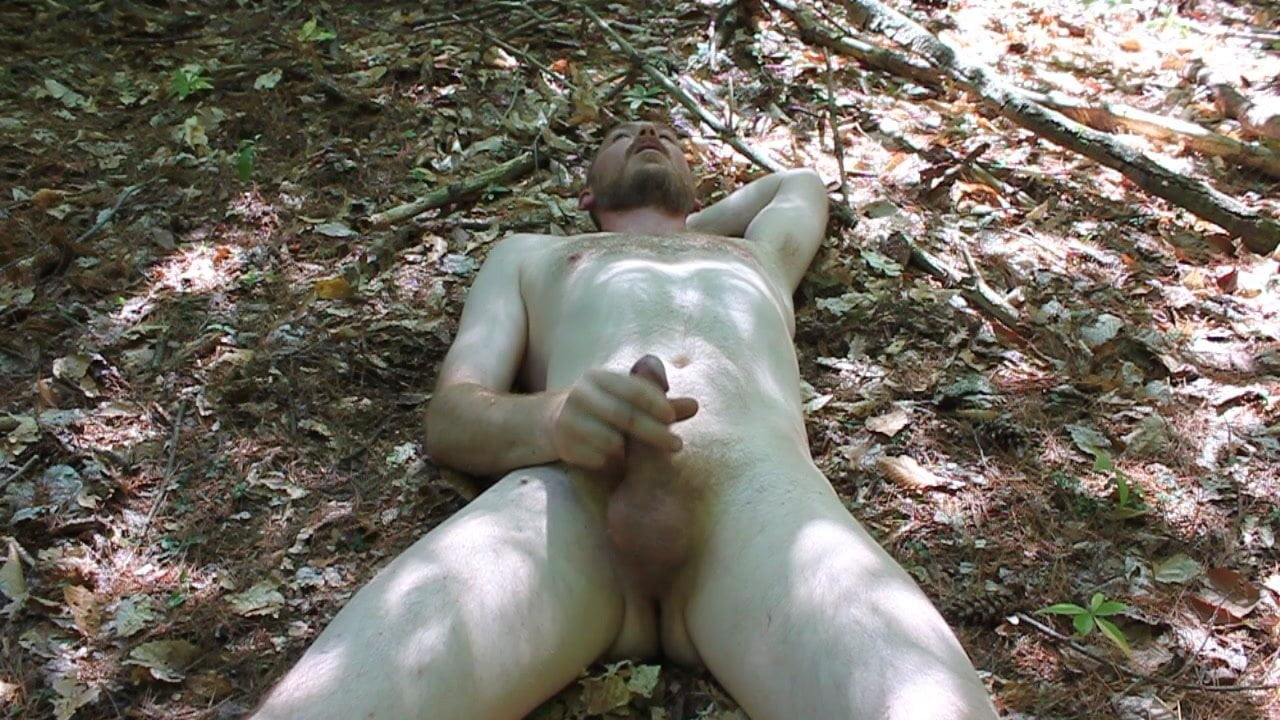 Jack off guys masterbate in the woods daughter naked together