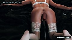 I AM A SQUIRTER !!! FUCK MACHINE SESSION