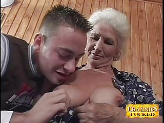 Preview 2 of Granny Loves Young Cocks