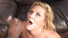 Ginger Lynn eats BBC snot 2