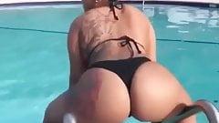 Twerking by the Pool