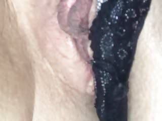 Large Labia Wife Orgasm Contractions