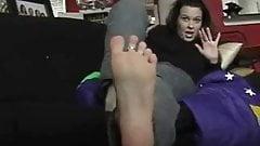 Foot Fetish Tease