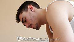 Manroyale paul cannon bangs muscle hunk