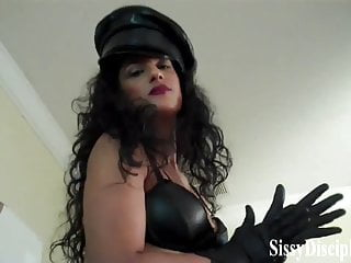 You look good as a sissy dress up doll