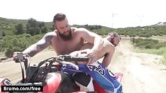 Aaron Bruiser with Stephen Harte at Dirty Rider Part 1 Scene