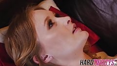 Flat chested chick Lanna Carter enjoys being boned hard