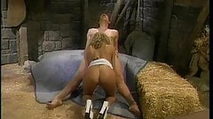 Naughty Briana Banks gets fucked by chauffeur in barn