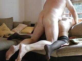 Grandma first time anal ???