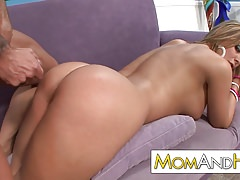 Hot milf covered with cum Thumbnail