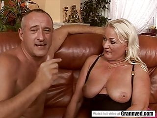Preview 1 of Squirter Grandma anal sex