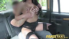 Fake Taxi Brunette club dancer works her magic for free ride