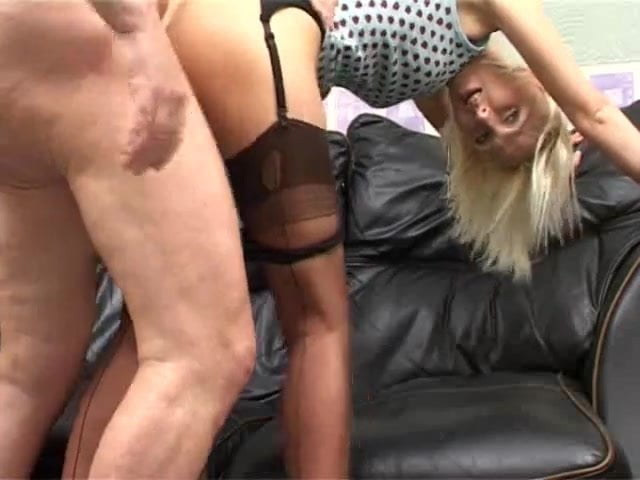 Brit nylon stocking milf pt 01