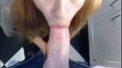 Blonde loves big cocks