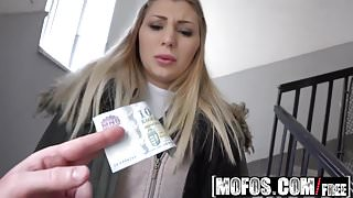 Mofos - Public Pick Ups - Facial for Blonde Artist starring